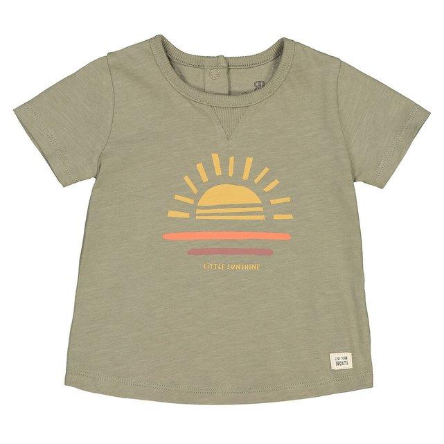 Κοντομάνικο T-shirt από οργανικό βαμβάκι, 1 μηνός - 4 ετών