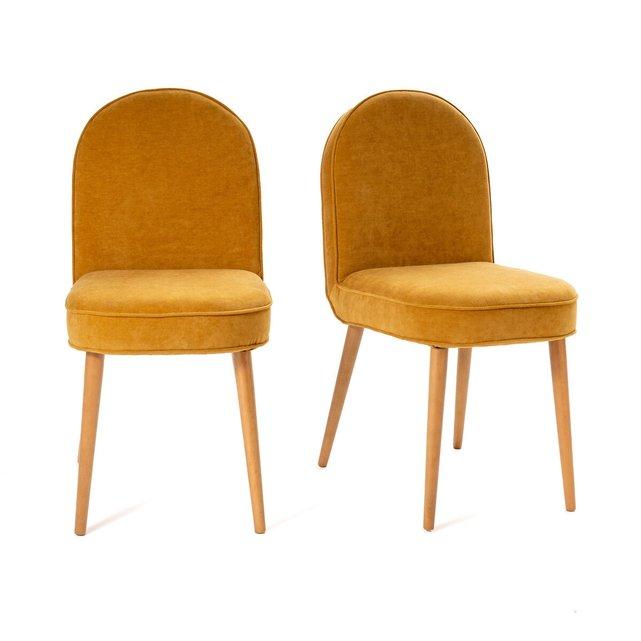 Σετ 2 βελούδινες καρέκλες, Buisseau