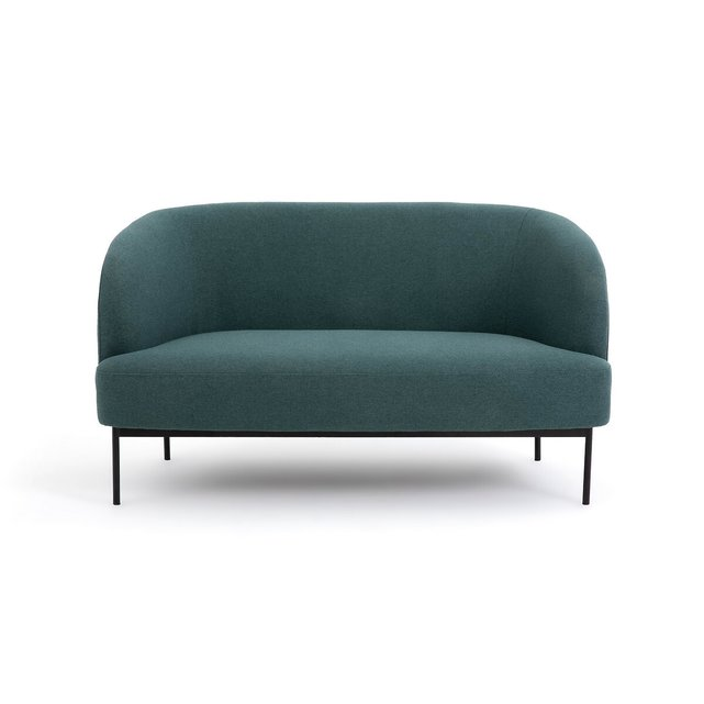 Διθέσιος καναπές με μελανζέ ταπετσαρία, Yvas