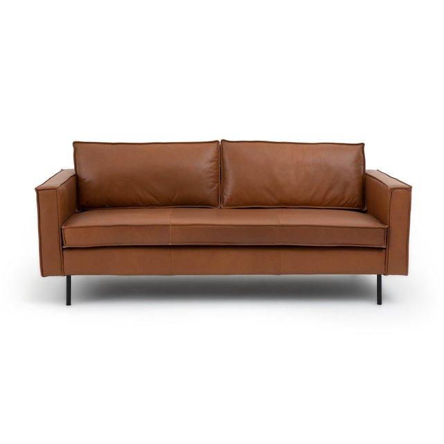 Τριθέσιος δερμάτινος καναπές, Peter