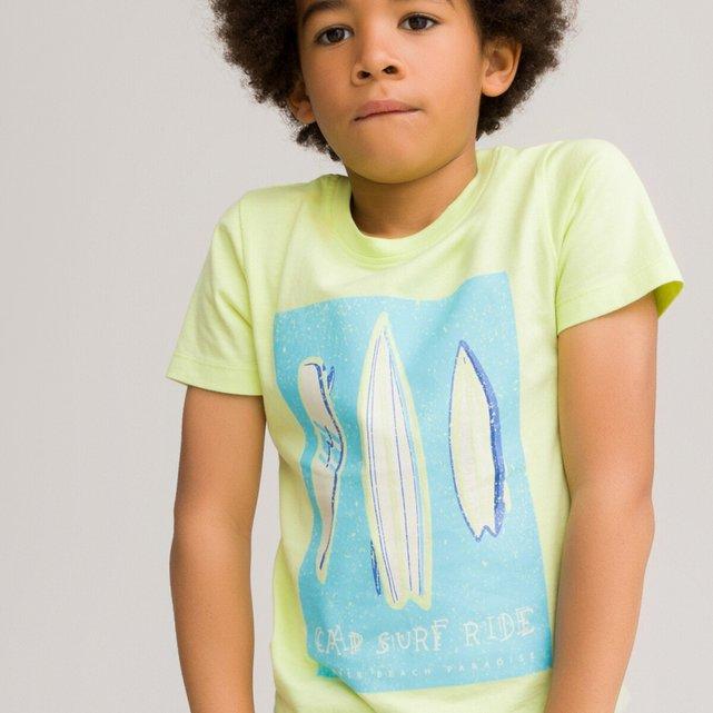 Κοντομάνικο T-shirt από οργανικό βαμβάκι, 3-12 ετών