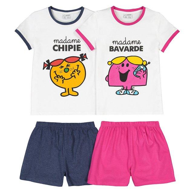 Σετ 2 πιτζάμες με σορτς, 3-10 ετών
