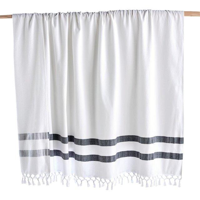 Πετσέτα χαμάμ με μία πλευρά από οργανικό βαμβάκι, Antalya