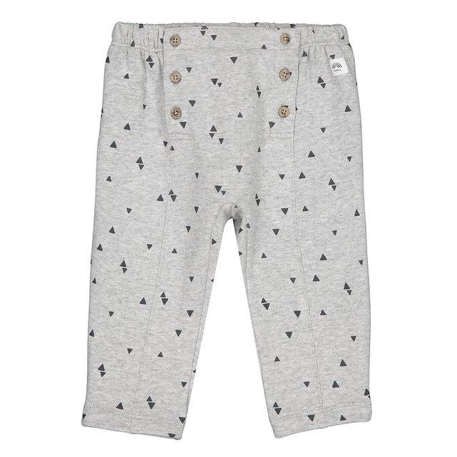 Εμπριμέ παντελόνι φόρμας από οργανικό βαμβάκι, 1 μηνός - 3 ετών