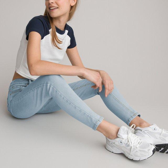 Skinny ψηλόμεσο τζιν, 10-18 ετών