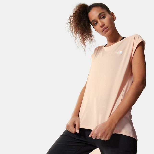 Κοντομάνικο T-shirt με στρογγυλή λαιμόκοψη, Tanken