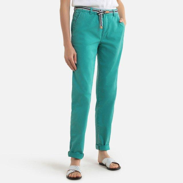 Παντελόνι chino με ζώνη, μήκος 32