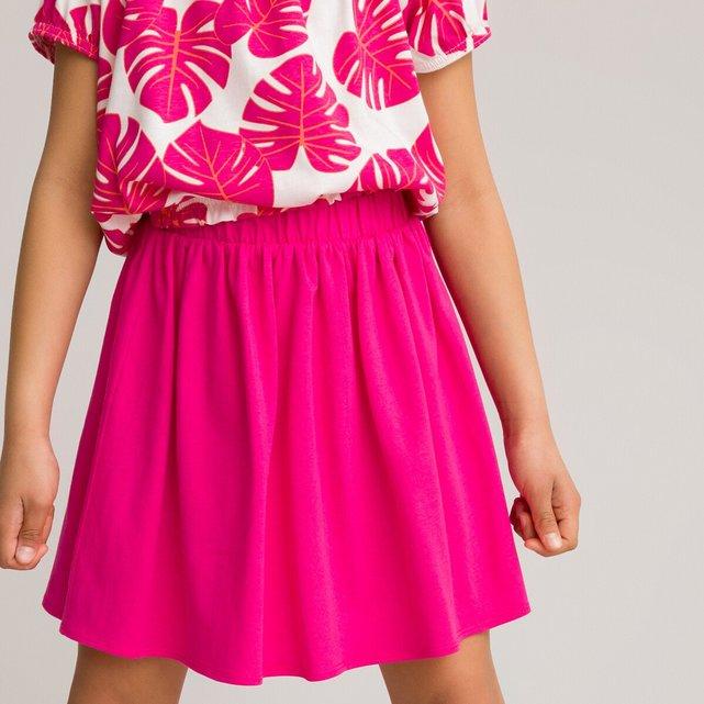 Κοντή φούστα από οργανικό βαμβάκι, 3-12 ετών