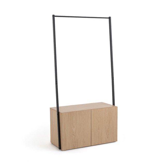 Έπιπλο εισόδου από ξύλο δρυ και μέταλλο, Amez