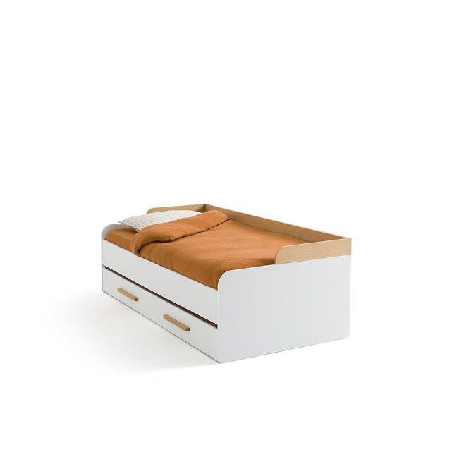 Καναπές κρεβάτι με τάβλες και δεύτερο συρόμενο κρεβάτι, Arturo