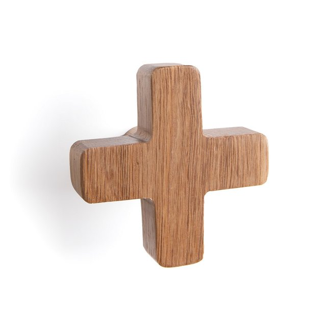 Κρεμάστρα-σταυρός από μασίφ ξύλο, Lucrece