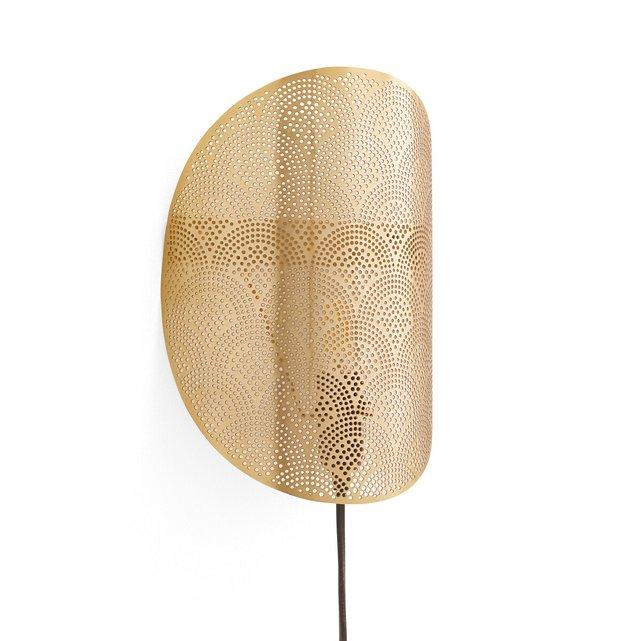 Χρυσαφί απλίκα με διάτρητο σχέδιο, Douwi
