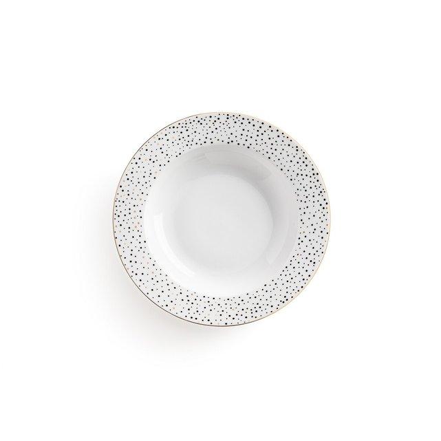 Σετ 4 βαθιά πιάτα από πορσελάνη, Festa
