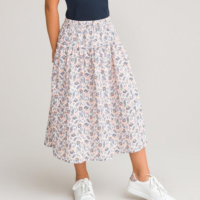 Μακριά φλοράλ φούστα, 3-12 ετών