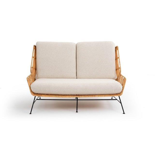 Καναπές 2 θέσεων από ρατάν, Malu