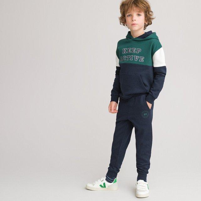 Σύνολο φούτερ και παντελόνι jogpant από φανέλα, 3-14 ετών