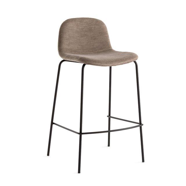 Καρέκλα μπαρ με νερά στην ύφανση, Υ75 εκ Tibby