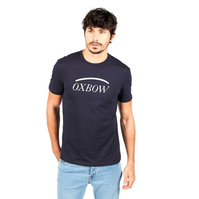 Κοντομάνικο T-shirt με μεγάλο λογότυπο
