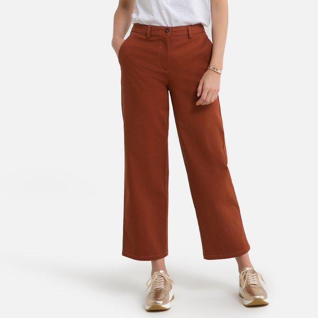 Φαρδύ παντελόνι με κοντό μήκος