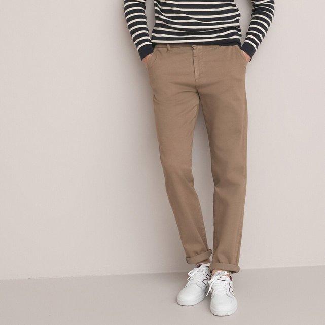 Παντελόνι chino σε γραμμή regular από οργανικό βαμβάκι
