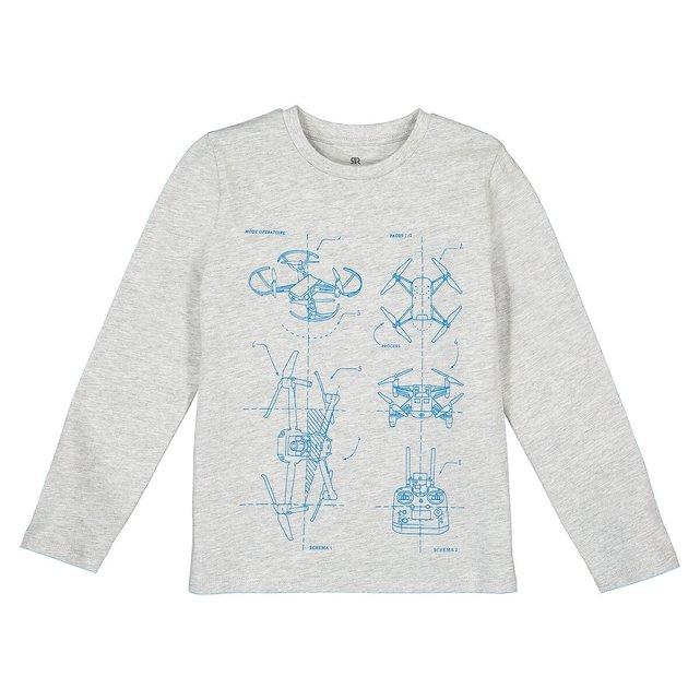 Μακρυμάνικη μπλούζα, 3-14 ετών