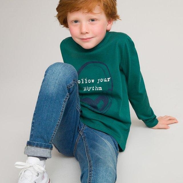 Μακρυμάνικη μπλούζα, 3 - 12 ετών