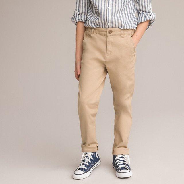 Παντελόνι με λοξές τσέπες, 3-12 ετών
