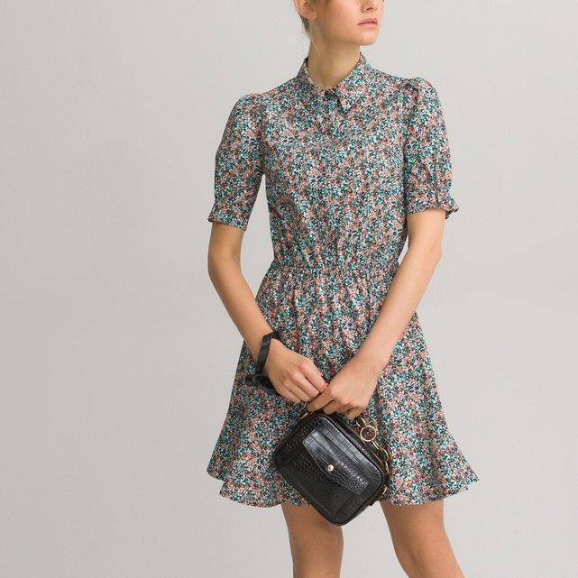 Κοντό φλοράλ φόρεμα