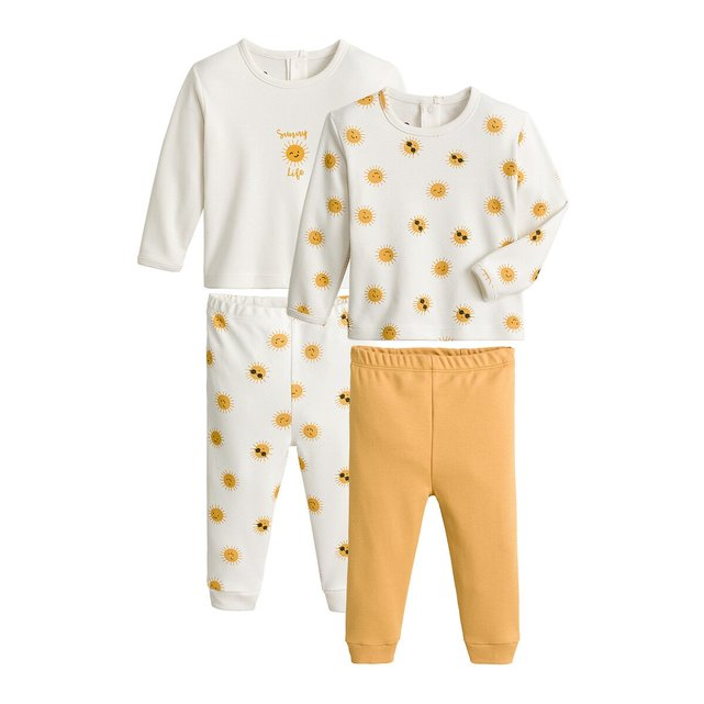 Σετ 2 πιτζάμες, 3 μηνών - 4 ετών