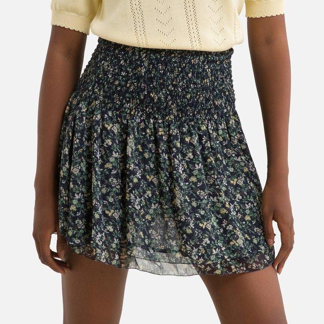 Κοντή φλοράλ φούστα