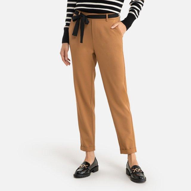 Ίσιο παντελόνι με ζώνη
