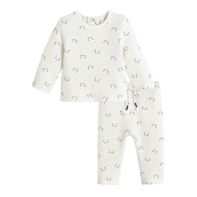 Σύνολο μπλούζα και κολάν από οργανικό βαμβάκι, 0 - 2 ετών
