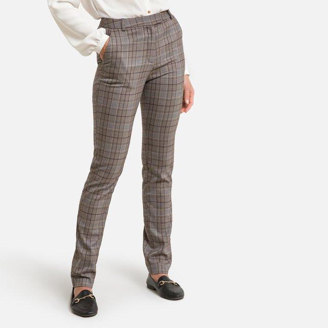 Καρό παντελόνι σε γραμμή σωλήνα