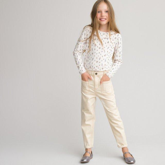 Παντελόνι mom fit, 3-12 ετών