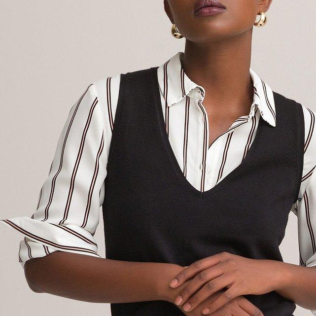 Μακρυμάνικο ριγέ πουκάμισο
