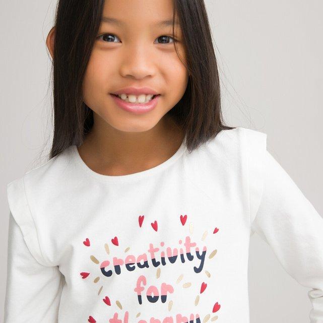 Μακρυμάνικη μπλούζα από οργανικό βαμβάκι, 3-12 ετών