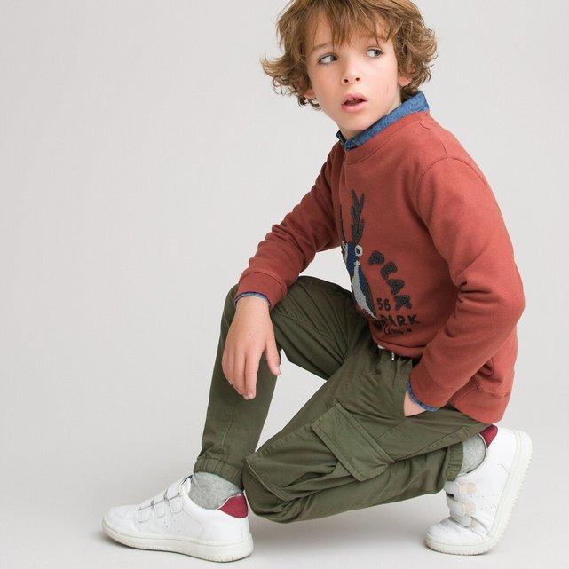 Παντελόνι με μεγάλες τσέπες, 3-12 ετών