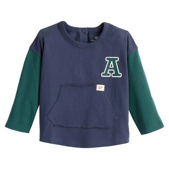 Μακρυμάνικη μπλούζα, 1 μηνών-4 ετών