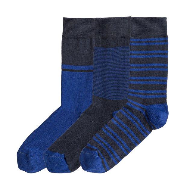 Σετ 3 ζευγάρια ψηλές κάλτσες