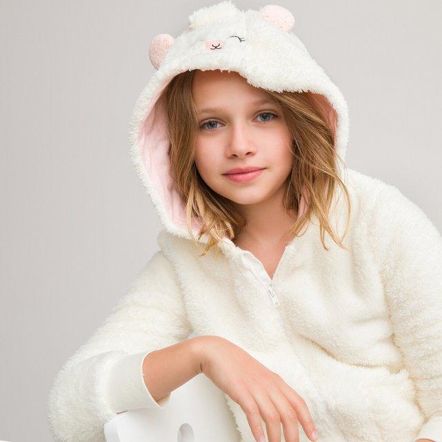 Ζακέτα homewear από συνθετική γούνα, 3-14 ετών
