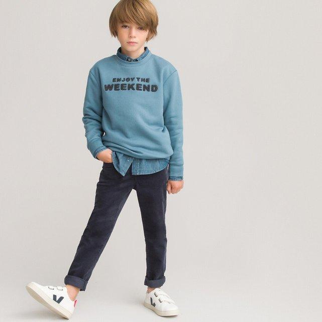 Slim κοτλέ παντελόνι, 3-14 ετών