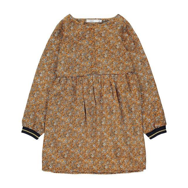 Φαρδύ φλοράλ φόρεμα, 8-14 ετών