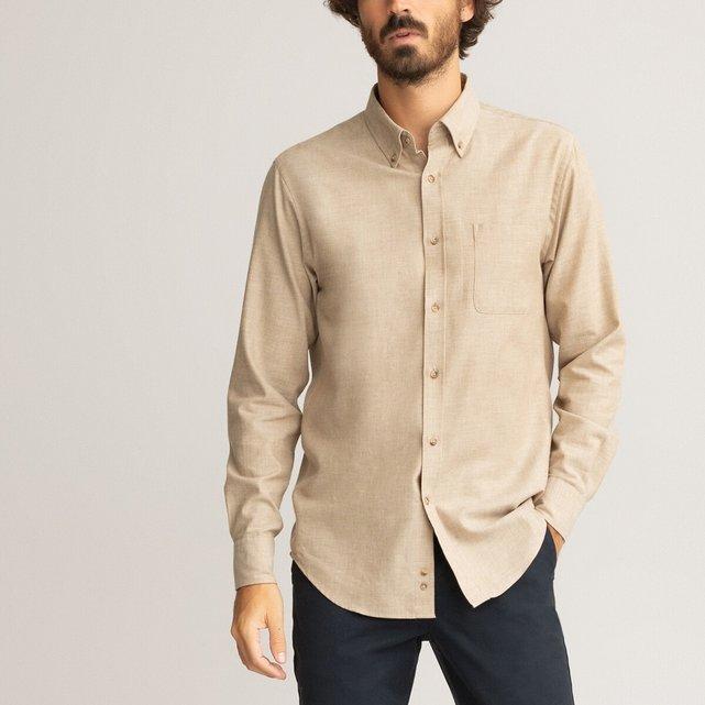 Φανελένιο πουκάμισο σε ίσια γραμμή