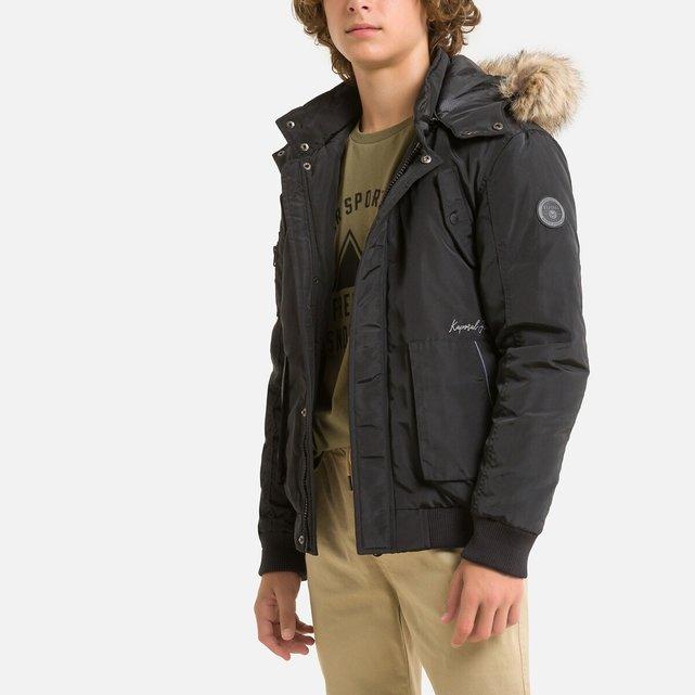 Ζεστό μπουφάν με κουκούλα, 10-16 ετών