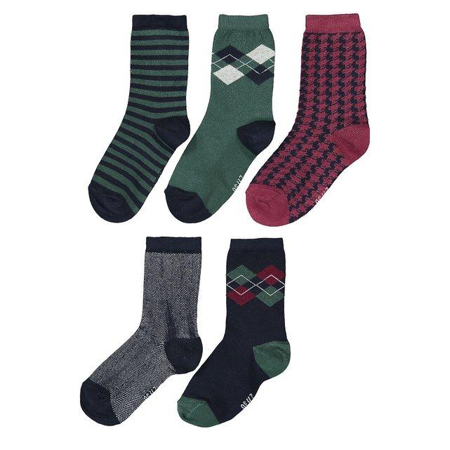Σετ 5 ζευγάρια κάλτσες, 23 26 - 39 42