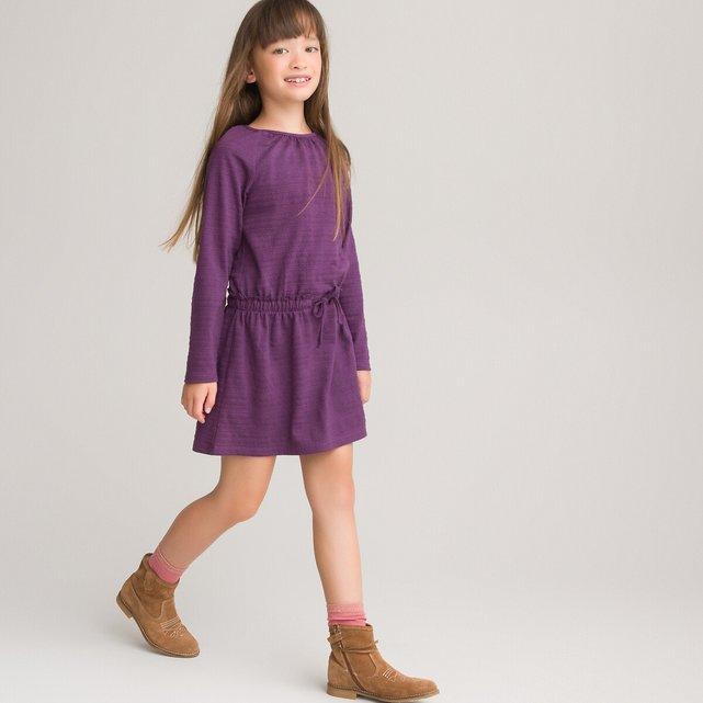 Μακρυμάνικο ίσιο φόρεμα, 3 - 12 ετών
