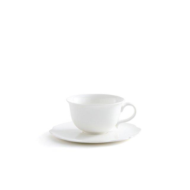Σετ 4 φλιτζανοπιατάκια καφέ, Hirene