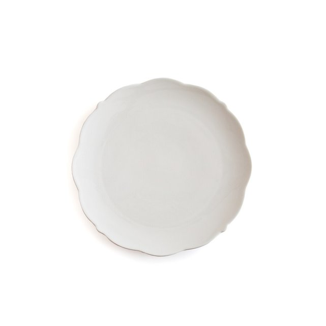 Σετ 4 ρηχά πιάτα από πορσελάνη, Hirene