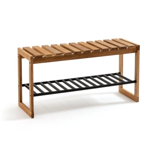 Πάγκος από μασίφ ξύλο και μέταλλο, Kia