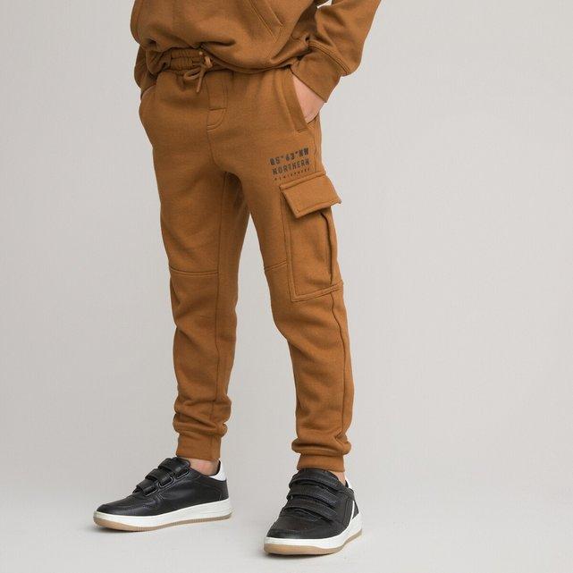 Φανελένιο παντελόνι από οργανικό βαμβάκι 3-12 ετών